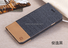 Promotion Private pu wallet mobile phone flip leater case covers for ZTE U819