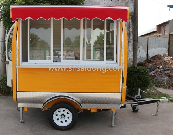 Mobile Street Food Stall for Burger sale