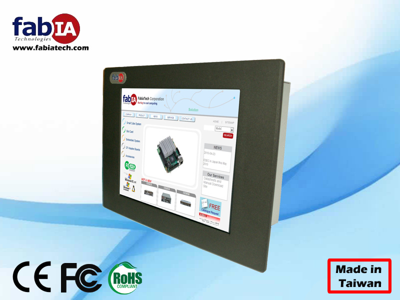 FP8081T Industrial touch screen panel PC