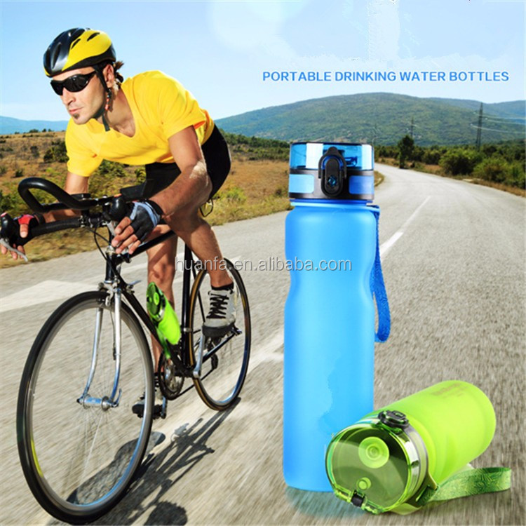 Bulk items of <strong>Eco</strong> Friendly & Non Toxic BPA Free Plastic Sport Water Bottles for Gym Running Hiking Cycling and Camping