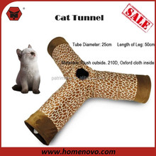 Pet Tunnels Cat Products Toys Funny Hole Cat Long Tunnel Multi Types Play Toy