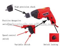 750w 10mm Strong Power Electric Drill