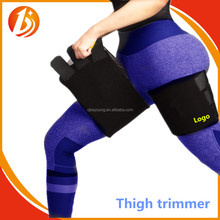 2017 popular sweat slimming neoprene thigh trimmer wrp belt for weight loss and Fitness