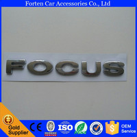 Car ABS Chrome Custom Word Sticker Badge Emblem For Ford
