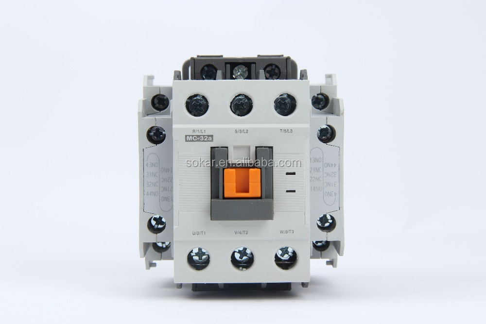 MC-32 32a 3 phase electrical magnetic types of ac Contactor