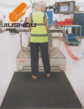 Industry shock proof non-slip anti-fatigue comfort floor mat for long time standing
