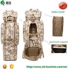 600D waterproof 65L Outdoor Military molle system camo molle tactical gear military backpack