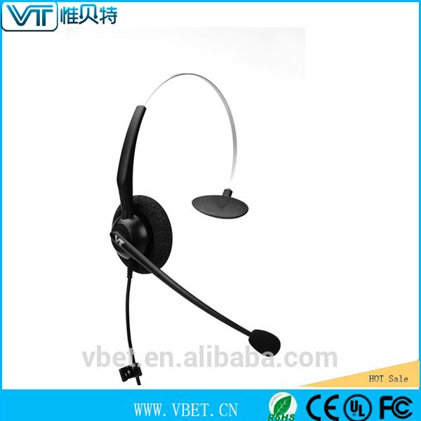 cord headsets usb telephone headsets with quick link function