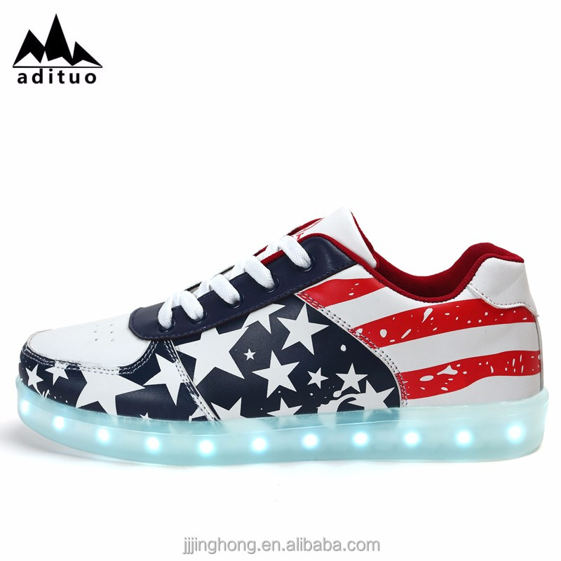 Wholesale New Design Low Price Bulk Led Shoes