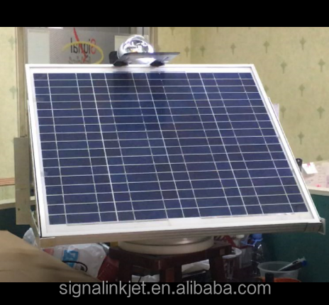 Solar tracker single axis with Pan device