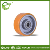 Cheap and high quality small industrial polyurethane wheel