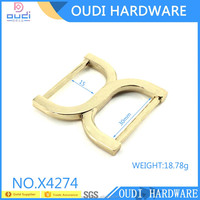 Double D Ring Buckle For Bag Metal D Buckle/ Woman Bag Slider Buckle