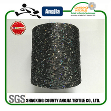 150D 3MM sequin/metal crochet yarn for knitting wholesale