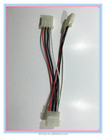 UL 1007 80C wire 2 PCS of Male and 1PC of Female pin Housing Wire Assembly