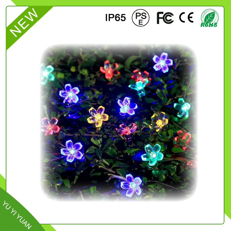 50LED Solar Festival low voltage christmas lights landscape lighting