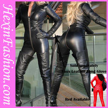 Wholesale Tight Sexy Cheap PVC Leather Catsuits