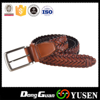 Innovative Products Mens Genuine Spanish Braided Men Leather Belt