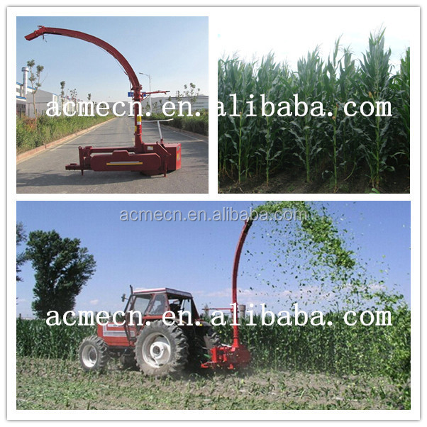 tractor PTO power corn silage harvester/silage machine