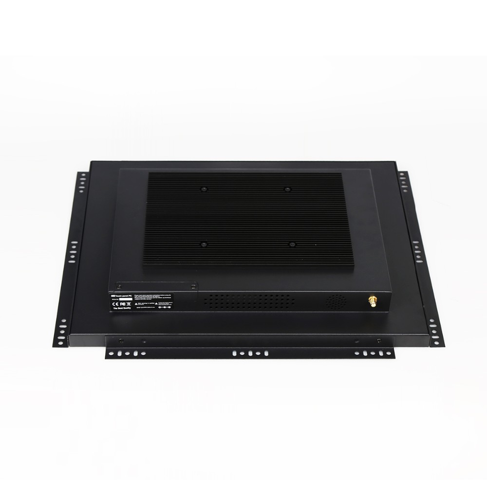 17inch rackmount open frame industrial touch screen Panel fanless PC with with wireless LAN WIFI
