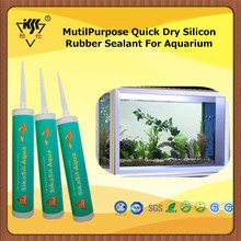 MutilPurpose Quick Dry Silicon Rubber Sealant For Aquarium