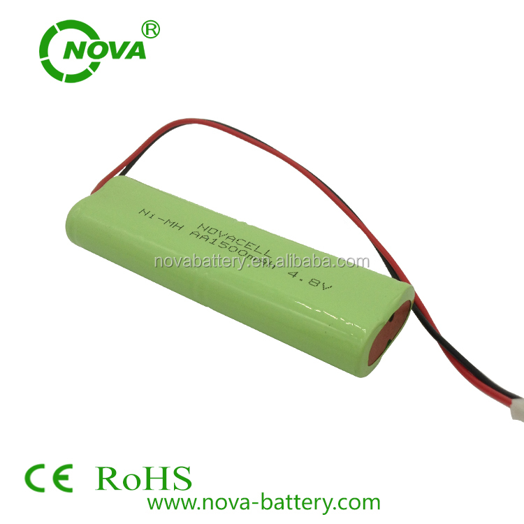 ni-mh aa1500mah 4.8v battery pack nimh aa 1500mah rechargeable battery