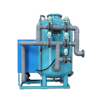 Aquaculture mechanical sand filter system /sand filter machine for Removing suspended solids smaller than 40 microns