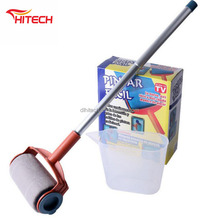 adjustable roller paint brush extra long handle / corner portable oval paint brush / paint brush with threaded handle