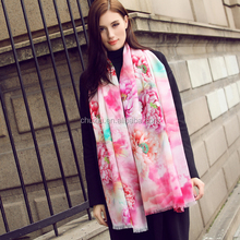 Factory Fashion wholesale 100% cashmere shawl for Christmas