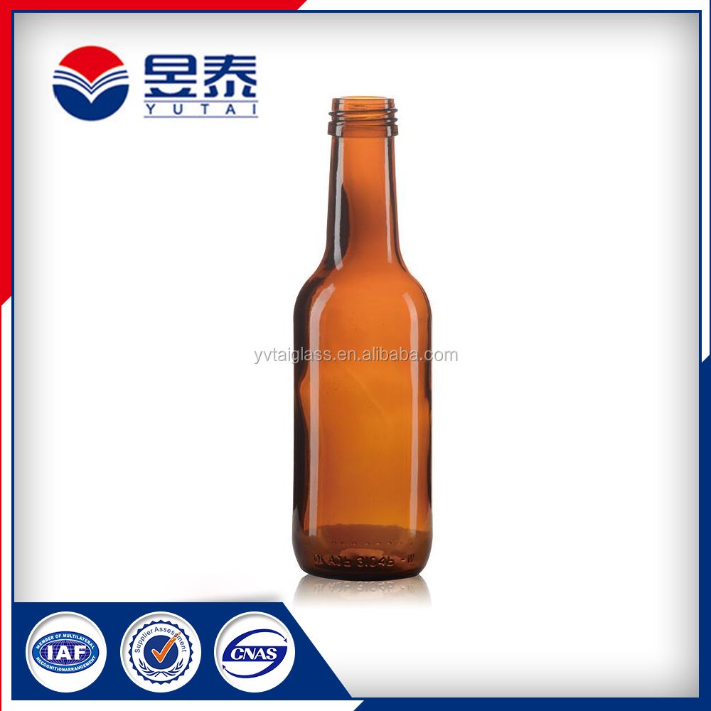Best Selling Products Amber Beer Glass Bottle Hot Sale Beverage Glass Bottle