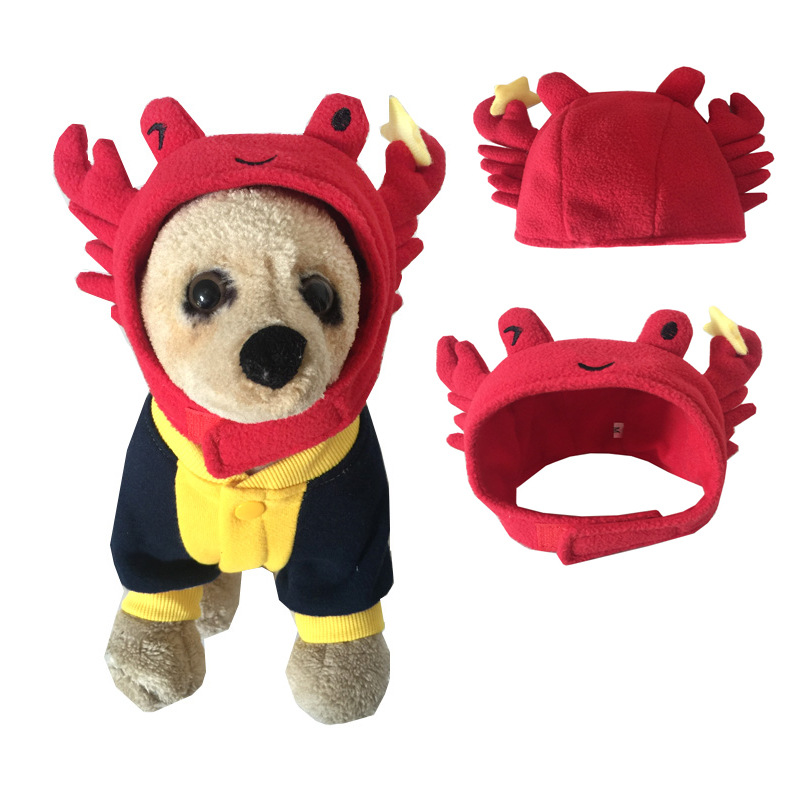 FX0041A Cute dog cat hats red hats for pet wholesale cheap accessories