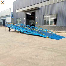 large discount offer container warehouse hydraulic loading mobile dock ramp
