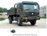 China Howo 4x4 Tipper dump truck All Wheel Drive Vehicle military truck for sale