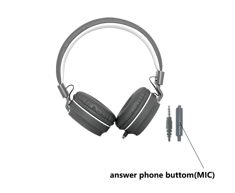 Cheap Custom Noise Cancelling Headset Best Oem Wired Headphones