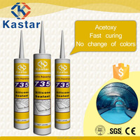 Trade Assurance $30.000 water & mildew resistant aquarium silicone sealant tube