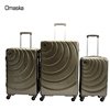 China luggage manufacturer 20 24 28 inch carry on suitcase PC hard trolley case bag