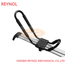 Steel car roof kayak rack for 1 kayak