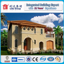 Chinese economical comfortable light steel structure villa