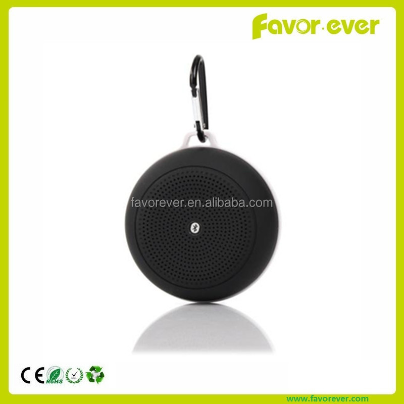Cheap price oem factory supply mini round shape portable bluetooth speaker for mobile phone