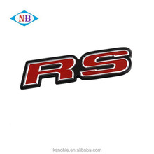 Letter Chrome Custom ABS Sticker Car Badge Emblem