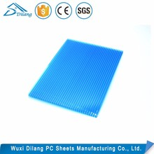 Uv protectde policarbonate plastic honeycomb sheet