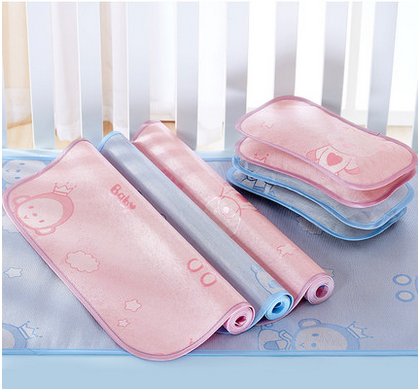 Water Proof Cooling Gel Bed Sleeping Pad & Hot Summer Cool Gel Mat for kid