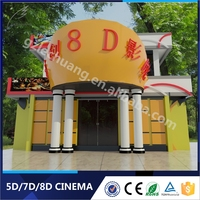 Home Theater 8D Cinema Equipment Electrical/Hydraulic New Immersive Sense Movies 8D VR
