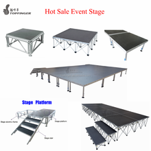 High quality professional outdoor concert wedding portable light dj equipment stage