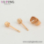 97723 Xuping wholesale fashion simple design jewelry aretes de ojitos gold women eye stud earrings
