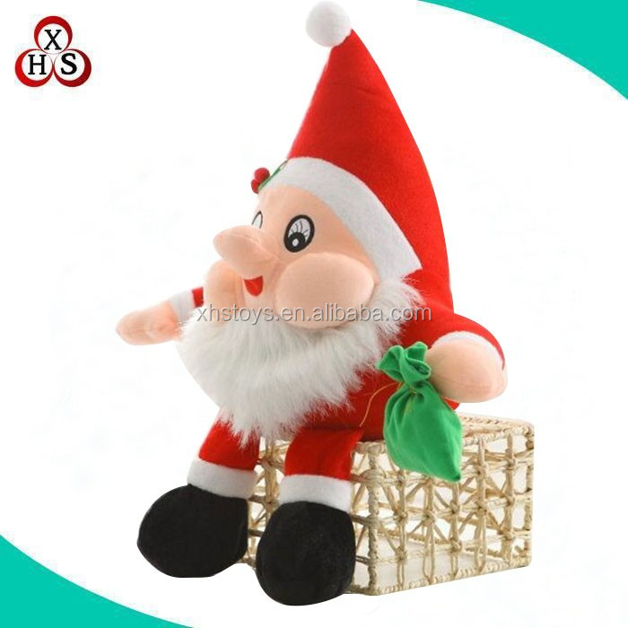Christmas soft toy plush toys,christmas elf plush toy/outdoor plush santa clause/small christmas animal toys,