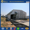 Steel poultry house and chicken farm equipment from China