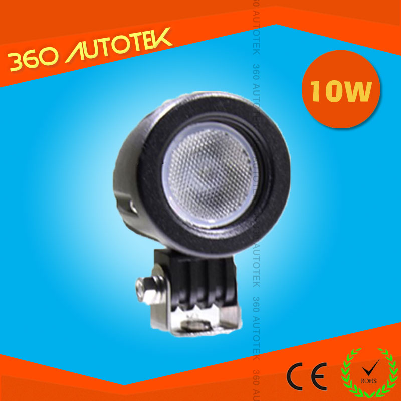 Hot round 10w auto led lights for cars 2inch off road light for 4x4 car accessories