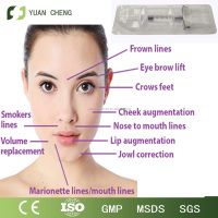 2ml, qufu Crosslinked Ha Filler for Remove Wrinkles/dermal filler for fine lines/top skin/filler injection