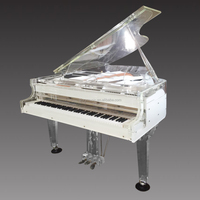 musical instrument, Discount for grand piano with acrylic stool made in China, OEM custom Crystal Grand Piano for sale