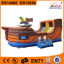 pirate ship bounce house,pirate ship bouncy castle,pirate ship jumping castle with slide